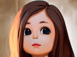 Cute Cartoon Girl Wallpaper Download ...