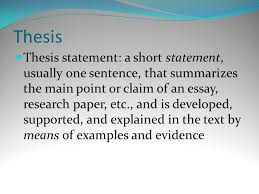 examples of thesis statements for literary analysis essays catcher in the rye literary analysis essay thesis essay example taking your writing from good to great thesis statements lt br gt taking