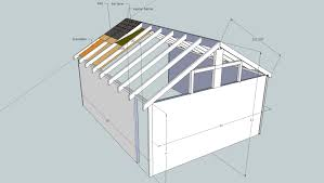 Shed Roof Designs Plans For Building An Equipment Shed
