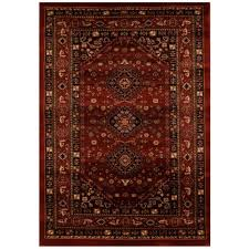 affordable traditional persian design chiraz burgandy red floor area rugs hall runners