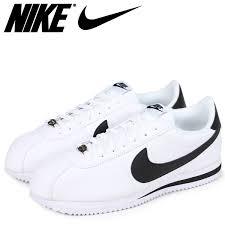 nike ナイキコルテッツスニーカー cortez basic leather 819 719 100 men s shoes white white