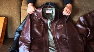 horshide half belt leather jackets vintage and new