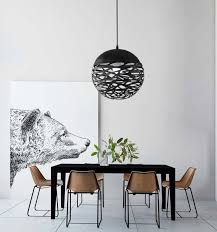 <b>Free Shipping Modern Led</b> Pendant Lamp White Black Painting ...