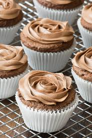 Quick Nutella Icing Recipe Easy Nutella Cupcakes Charlottes Lively Kitchen