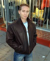 mens short leather jacket