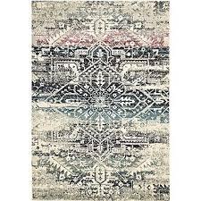 auberon modern rug blue