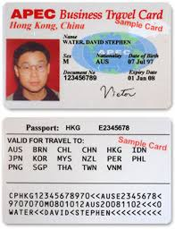 Apec Business Travel Card The Opportunity To Travel The World