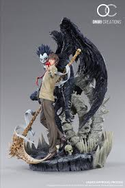 Light Yagami 3d Model Artstation Death Note Ryuk And Light Yagami Sheridan Doose