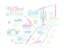 on new orleans map wall art with new orleans calligraphy map wall art prints by megan kelso minted