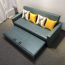 china solid wood sofa bed dual use