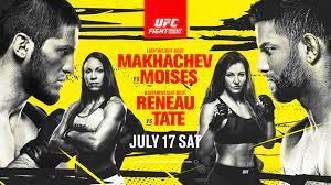 UFC Fight Night - Makhachev vs Moises ...