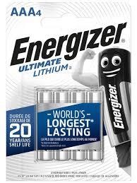 Литиевые <b>батарейки Energizer</b> типа AAA, 4 шт. Energizer ...