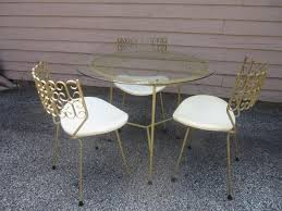 salterini outdoor furniture. SALTERINI MAURIZIO TEMPESTINI SET OF MID-CENTURY MODERN PATIO TABLE AND CHAIRS Salterini Outdoor Furniture M
