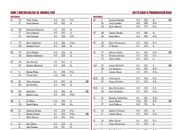 Neponset Reservoir Depth Chart Boston College Depth Chart For Virginia Tech Game
