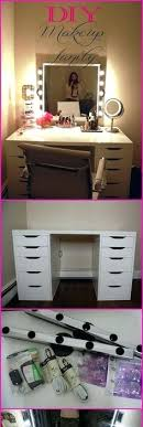 diy makeup vanity table. Beautiful Diy Diy Vanity Table You Can Also Try Some Of These Amazing Makeup  Ideas And  And Diy Makeup Vanity Table