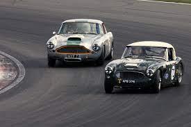 1958 Austin Healey 3000 Vs Aston Martin Db4 1958 Austin He Flickr