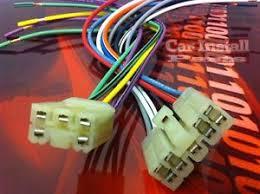 toyota oem stock radio wire harness plug 1982 1987 ebay Toyota Radio Wire Harness image is loading toyota oem stock radio wire harness plug 1982 toyota radio wire harness