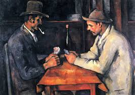the card players series was painted in cézanne s final period in the early 1890s