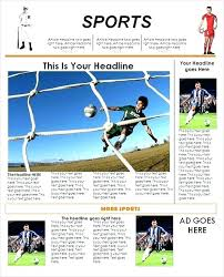 School Newspaper Layout Template School Magazine Template Senetwork Co