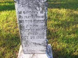 George Milton Burch (1822-1898) - Find A Grave Memorial