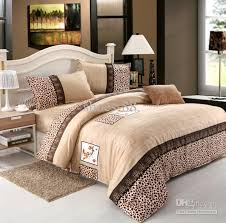 red pink gray white brown leopard cotton queen size duvet quilt with and comforter set decorations 14