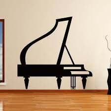 strikingly idea piano wall art small home remodel ideas grand musical instrument sticker as10152 apex decor on grand piano wall art with piano wall art alcove fo
