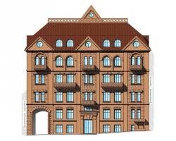 Купить дипломный Проект № Реконструкция х этажного жилого  Проект №2 84 Реконструкция 4 х этажного жилого дома с подвалом в