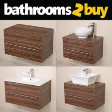bathroom vanity units without basin. bathroom vanity unit walnut furniture wall hung mounted countertop basin sink units without o