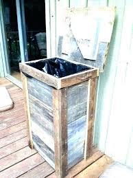 wooden trash bins for kitchen pretty garbage cans for kitchen wooden wood trash cans diy wood