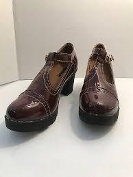 Dadawen Womens Classic T Strap Platform Mid Heel Square Toe