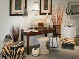 Safari Decor For Living Room Brown Fabroc Curtain Living Room On Budget Top White Painting Wall