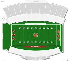 University Of Kentucky Stadium Seating Chart Lt Smith Stadium Western Kentucky Seating Guide