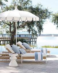 resort inspired patio umbrellas