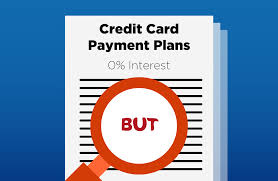 Credit Card Payment Plan 5 Things You Didnt Know About Credit Card 0 Interest Instalment Plans