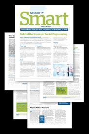 Examples Of Company Newsletters Security Smart Newsletter Home
