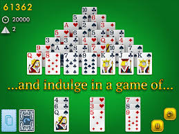 Q And A Game Pyramid Solitaire Classic Glowing Eye Games