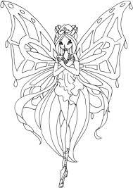Disegno Di Enchantix Flora Da Colorare Disegni Da Colorare E