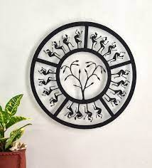 wrought iron round decorative in