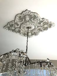 chandeliers chandelier ceiling medallion best medallions images on blankets beautiful with a size