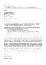 pharmacy technician letter pharmacy technician letter 8