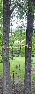 Tree Swing How To Build A Rope Tree Swing Part 2