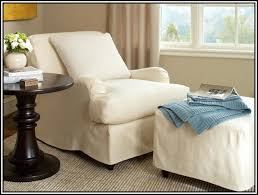 chair and a half with ottoman. cream chair and a half with ottoman