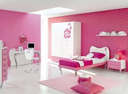 Nice Pink Colour Bedroom ...