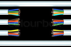 network cable wire categorieskickoff wiring diagram reference ethernet cable wiring on stock image of a wire background broken ethernet cable