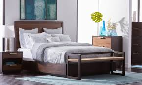 A Queen Size Bed In A Small Bedroom