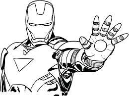35+ Tranh tô màu Iron Man mạnh nhất cho bé trai
