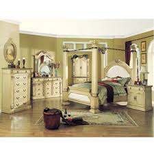 Good Roman Empire Antique White Bedroom Set 9356/63/70 (A)