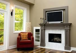 fireplace tv mantels on fireplace mantel gas fireplace mantels with tv above