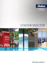 Dulux Pearl Effects Colour Chart Dulux Powder Coat Colour Chart Prowler Proof