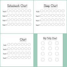 Free Printable Sleep Charts Simple Trick To Empower Kids Free Printable Charts To Teach